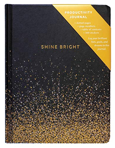 Shine Bright Productivity Journal (Journals)