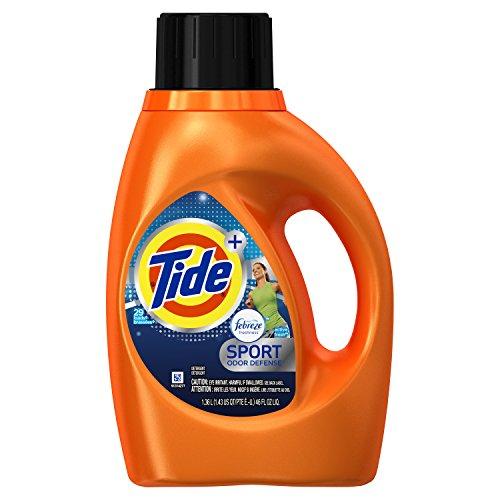 Tide Plus Febreze Fresh Sport Odor Defense Liquid Laundry Detergent
