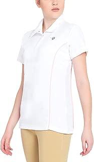 TuffRider Women's Kirby Kwik Dry Short Sleeve Show Shirt