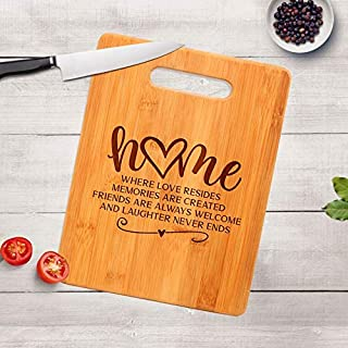 Housewarming Gift - Engraved Cutting Board - Realtor Closing Gift - New Home Gift