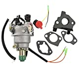 HURI Carburetor Carb + Intake Manifold + Gaskets for Honeywell HW5500 Generator 337cc 100924A HW6200 Generator 389cc 100925A