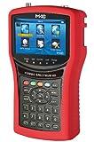 MKC 530134216 Analizzatore Combo Meter Dvbt/T2 e S/S2 con Misura Spettro e Scr, Rosso