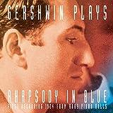 "album cover: ""Gershwin Plays Rhapsody in Blue"""