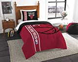 The Northwest Company Officially Licensed NBA Chicago Bulls Reverse Slam Twin Comforter and Sham