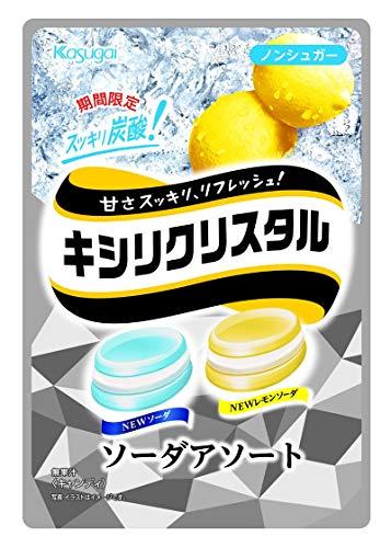 春日井製菓 キシリクリスタル ソーダアソート 67g ×6袋