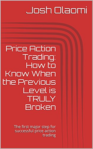 Price Action Trading: How to Know When the Previous Level is TRULY Broken: The first major step for successful price action trading (3 Fundamental Elements ... Action Trading Book 1) (English Edition)