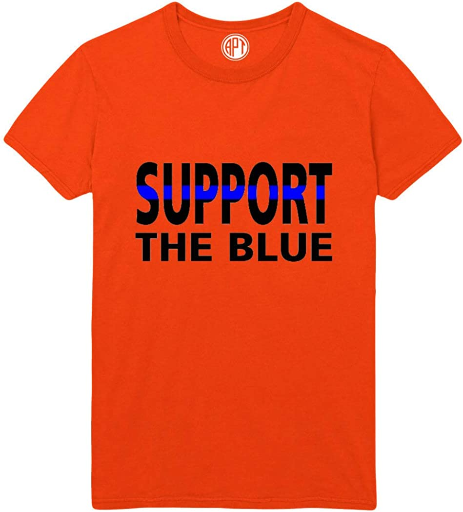 Support The Blue Printed T-Shirt
