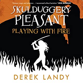 Playing with Fire audiobook cover art