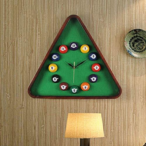 YLCJ Billard Modeling Billard Clock Art wandklok, creatief, zakhorloge, thuis