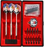 Turnier Soft Dart Pfeile Dartpfeile Chrom SET 18 Gramm + BOX Case