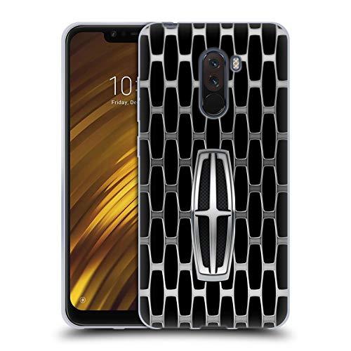 Head Case Designs Offizielle Ford Motor Company Grills Lincoln Logos Soft Gel Huelle kompatibel mit Xiaomi Pocophone F1 / Poco F1