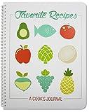 Best Blank Recipe Books - BookFactory Recipe Book/Large Recipe Journal/Notebook/Blank Cook Book Review