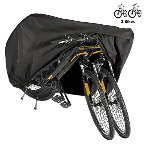 BICASLOVE Funda Bicicleta, Nylón 190T Anti Polvo Resistente al Agua a...