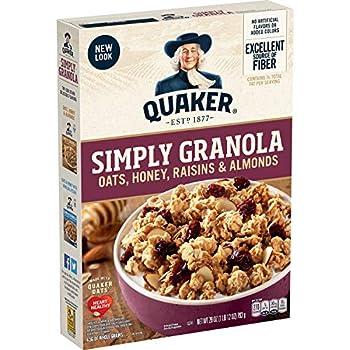 quaker oats granola cereal