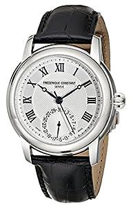 Frederique Constant Men's FC710MC4H6 Maxime Black Leather Strap Watch image
