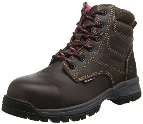 WOLVERINE Women's Piper Comp Safety Toe Boot-W, Brown, 11 M US