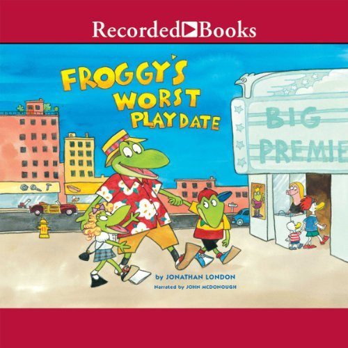 Froggy's Worst Playdate audiobook cover art
