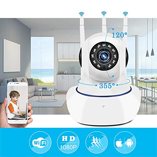 ZTKBG WiFi IP-camera 1080P Wi-Fi beveiliging videobewaking mini draadloze CCTV Huis Camara Baby Monitor IPcamera