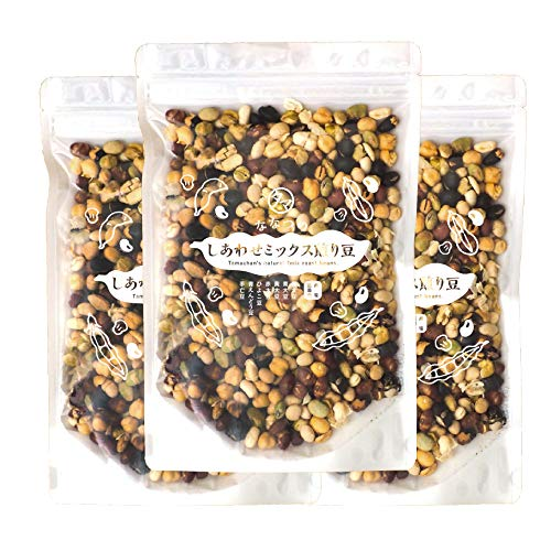 ななつのミックス煎り豆 (250g×3袋セット) 無添加