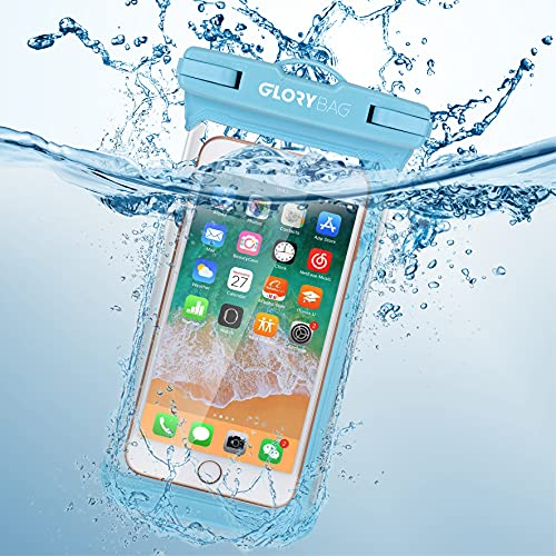 Glorybag - Premium wasserfeste Handyhülle – mit Touch ID Fingerprint – hochwertiges Handycase für extreme Bedingungen – optimale Schutzhülle zum praktischen Outdoor-Einsatz für alle Smartphones