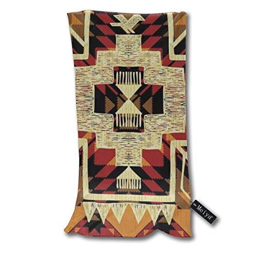 QHMY Native American Retro Design, Aztec Essuie-Mains Serviette de Plage Instant Cool Cool Ice Towel Gym Quick Dry Towel Microfibre Towel Cooling Sports Towel 12 X 27.5 inch
