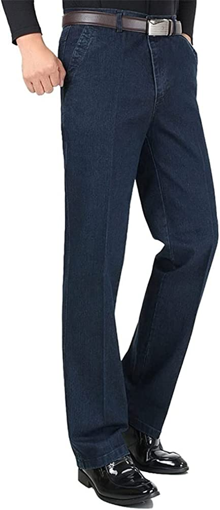 Albuquerque Mall Stretch Jeans for Men Soldering Spring Autumn Cotton F Casual Male Regular