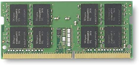 Kingston Technology (KVR24S17S8/8) ValueRAM 8GB 2400Mhz DDR4 Non-ECC CL17 SODIMM 1Rx8
