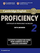 Cambridge English Proficiency 2 Student's Book with Answers (CPE Practice Tests)(Audio CDs, Student's Book with and without answers  not included)