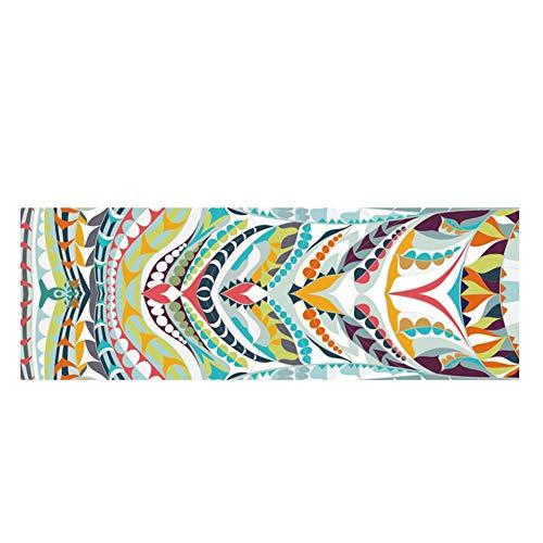 happygirr – Esterilla de Yoga Plegable de Secado rápido, Toalla de Fitness, Soft Double Sided, Antideslizante, Absorbente del Sudor, Microfibra, práctica y práctica