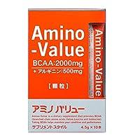 大塚製薬 アミノバリュー サプリメントスタイル 4.5g×10本×10個