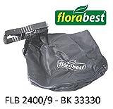 Florabest Aspirateur/souffleur Sac collecteur avec support FLB 2400/9Ian...