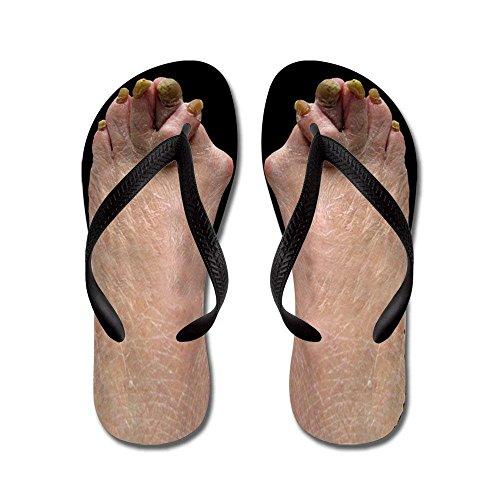 Liuzhis - Sandalias de Vestir de Caucho para Hombre, Color Negro, Talla Small (37/38 EU)