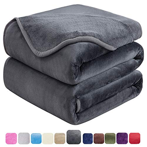 Lowest Prices! HOZY Soft Queen Size Blanket for Fall Winter Spring All Season Warm Fuzzy Microplush ...