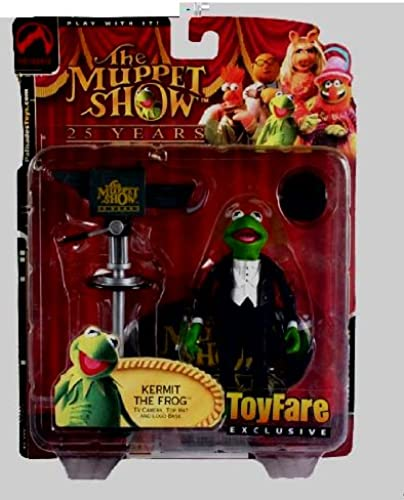ToyFare Exclusive Muppets Series 1 Kermit the Frog Action Figure [Toy]