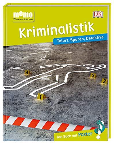 memo Wissen entdecken. Kriminalistik: Tatort, Spuren, Detektive. Das Buch mit Poster!