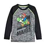 Jumping Beans Boys 4-12 Mario Active Graphic Tee 4 Black