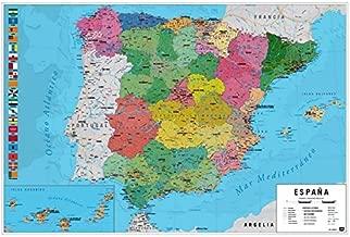 Amazon.es: mapa europa corcho