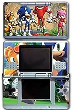 Sonic Boom Hedgehog Tails Amy Rose Knuckles Eggman Shattered Crystal Fire & Ice Robotnik Video Game Vinyl Decal Skin Sticker Cover for Original Nintendo DS System