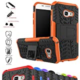 MAMA MOUTH Galaxy A3 2017 Case, Shockproof Heavy Duty Combo
