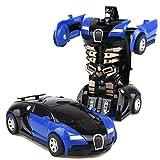 Verformbar Auto Rennauto Robot mit Fernbedienung Bewegung Motor Tolles TOY