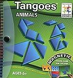 Tangoes Animales – Smart Games, Tangram magnetico, Juegos de Viaje, Puzzles Infantiles, Juego Educativo, Puzzles Infantiles, tangrams Infantil, smartgames