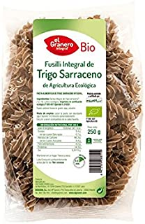 comprar comparacion Granero Fusilli De Trigo Sarraceno Integral Bio 250 Gramos Envase De 250 Gramos 250 ml