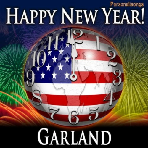 Happy New Year Garland with Countdown and Auld Lang Syne