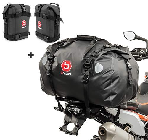 Set Sturzbügeltaschen + Hecktasche XK für Suzuki DR 800/750 S Big