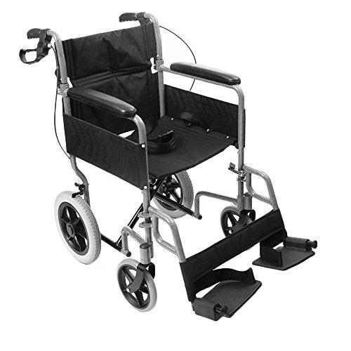 Silla de ruedas plegable marca NRS Healthcare