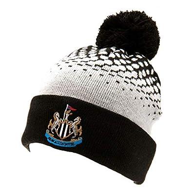 Newcastle United FC Fade Design Bobble Hat