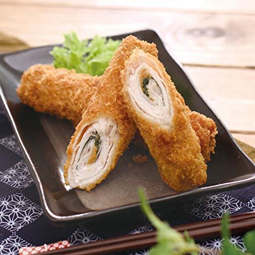 四国日清) 豚ロールカツ (梅しそ) 約80g×10本入