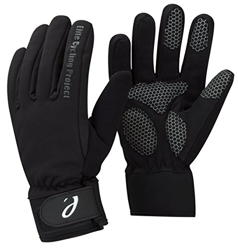Elite Cycling Proyecto Malmo Impermeables Guantes Invierno Ciclismo Acolchado Thinsulate Palms Forrado Negro M
