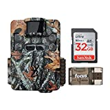 Browning Strike Force Pro XD Trail Camera (24MP) with 16GB Memory Card and Memory Card Reader | BTC5PXD