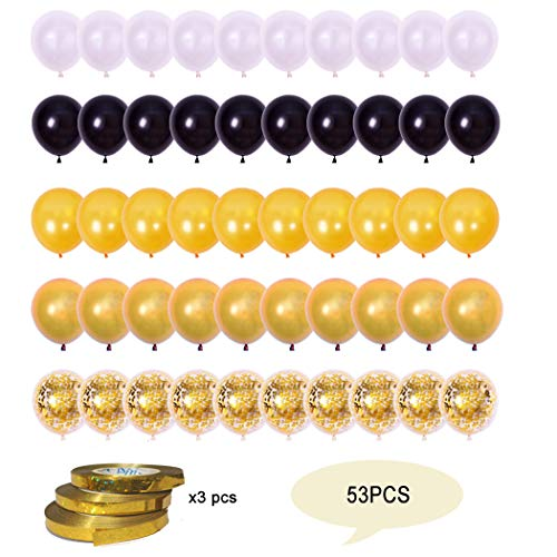Finypa Zeemeermin Ballonnen 50 Pack, 12 Inch Licht Donker Paarse Zeevruchten Blauwe Latex Ballonnen met Confetti Ballon voor Eenhoorn Party Decoraties Verjaardag Feestbenodigdheden met Lint.